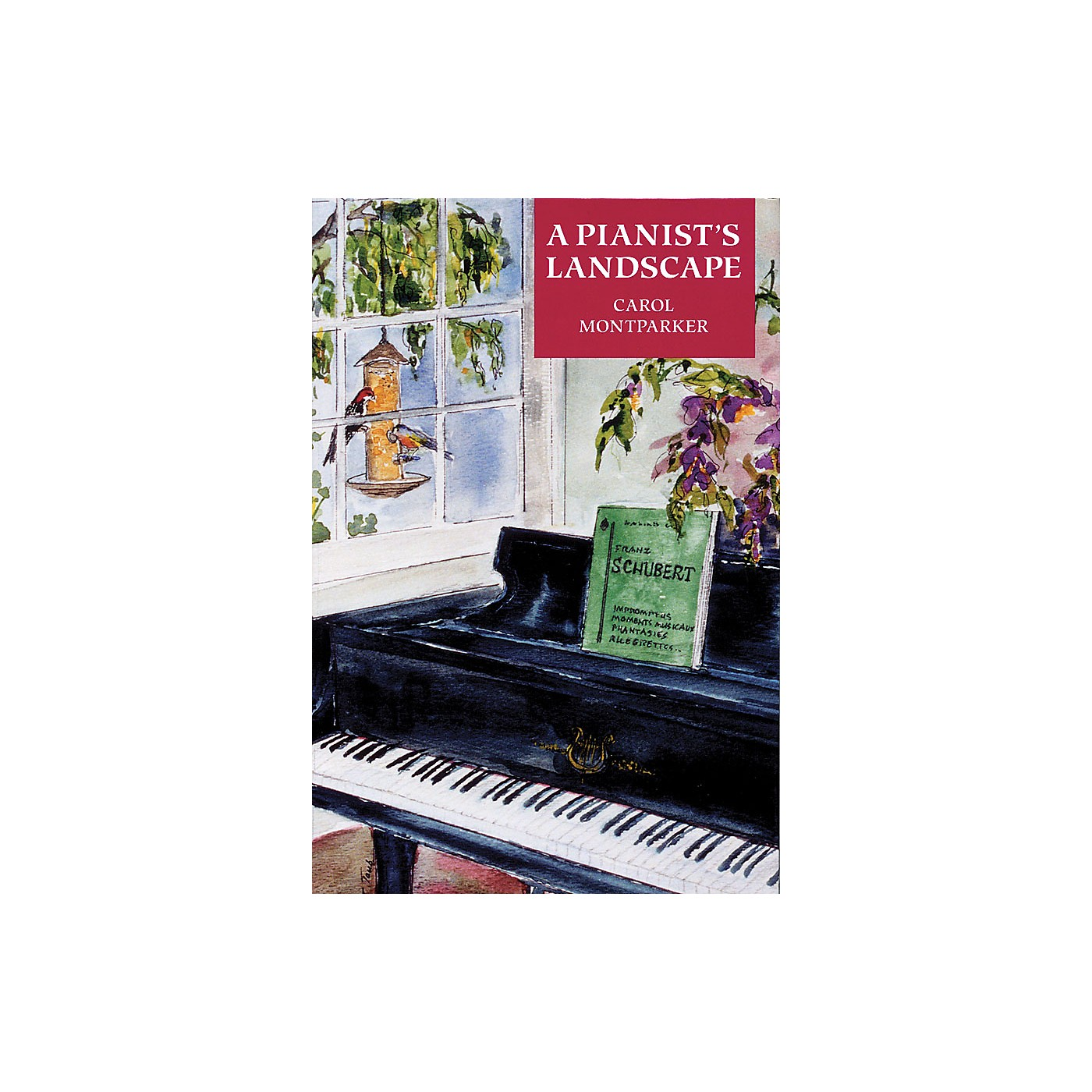 Amadeus Press A Pianist's Landscape Amadeus Series Softcover Written by Carol Montparker thumbnail