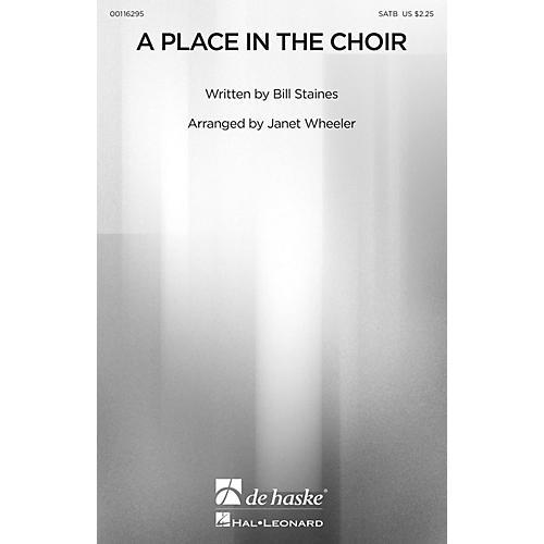 De Haske Music A Place in the Choir SATB arranged by Janet Wheeler thumbnail
