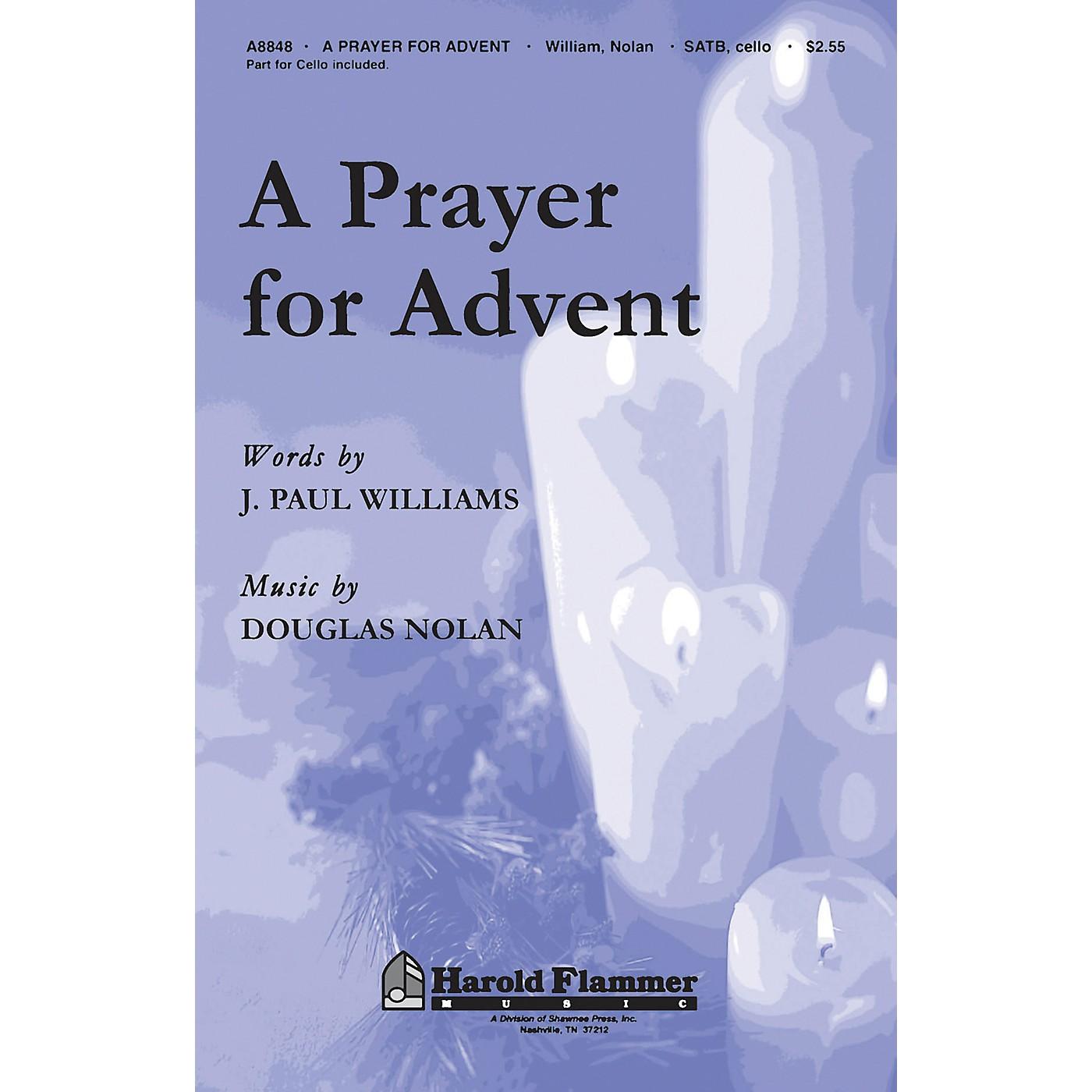 Hal Leonard A Prayer For Advent SATB With Cello thumbnail