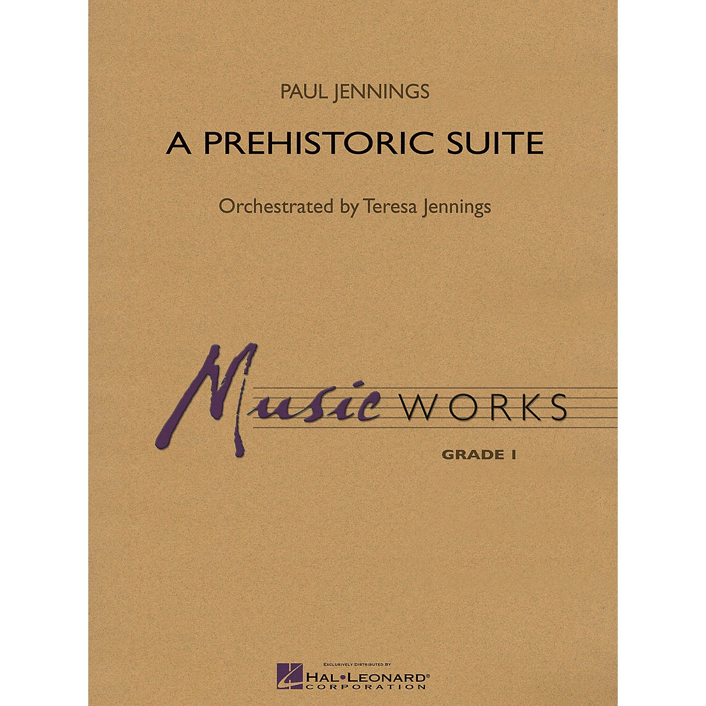 Hal Leonard A Prehistoric Suite Concert Band Level 1.5 Composed by Paul Jennings thumbnail