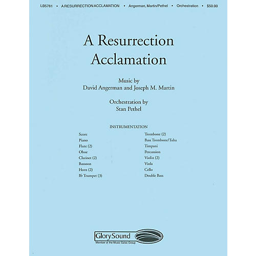 Shawnee Press A Resurrection Acclamation Score & Parts arranged by Stan Pethel thumbnail