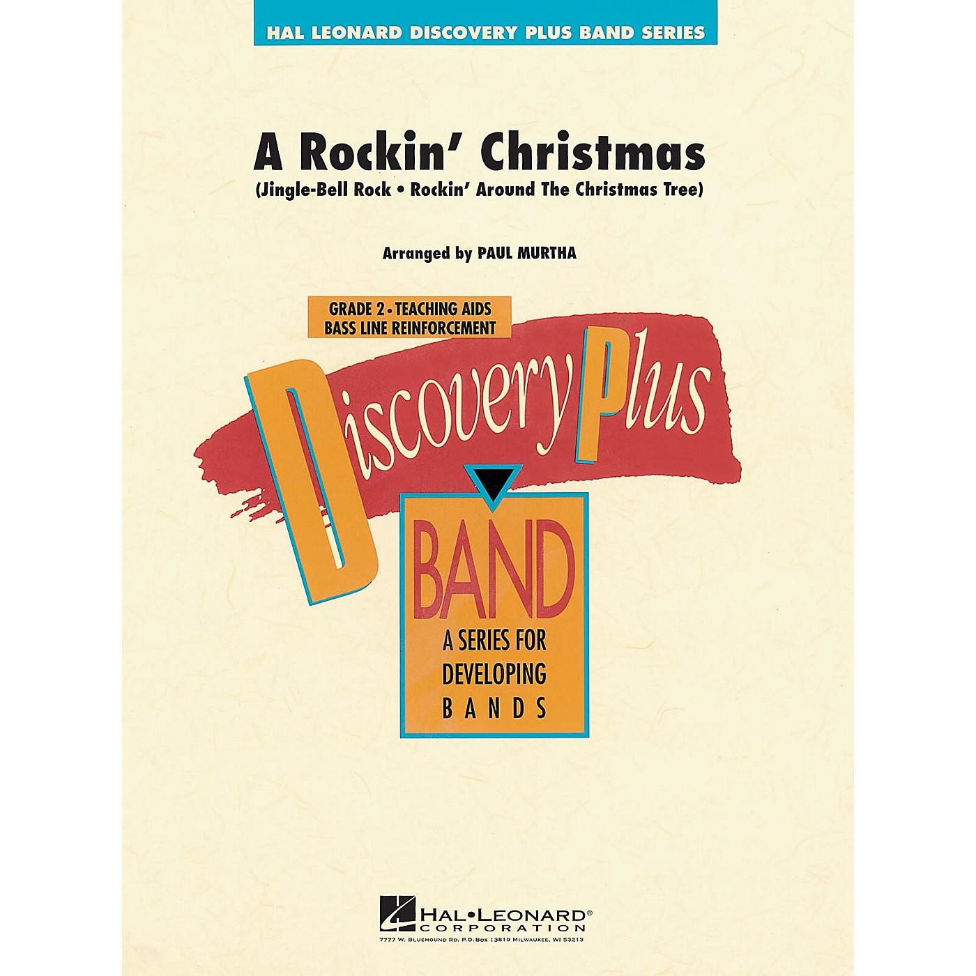 Hal Leonard A Rockin' Christmas - Discovery Plus Concert Band Series Level 2 arranged by Paul Murtha thumbnail