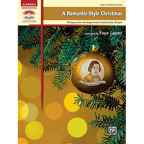 Alfred A Romantic-Style Christmas Early Advanced Piano Book thumbnail
