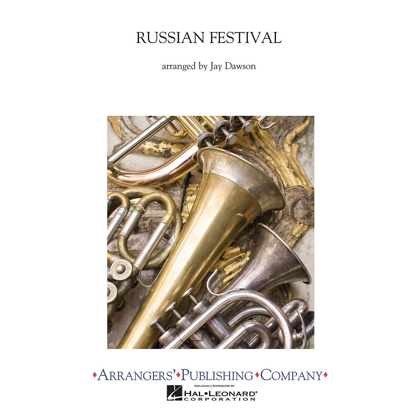 Arrangers A Russian Festival Concert Band Level 2.5 Arranged by Jay Dawson thumbnail