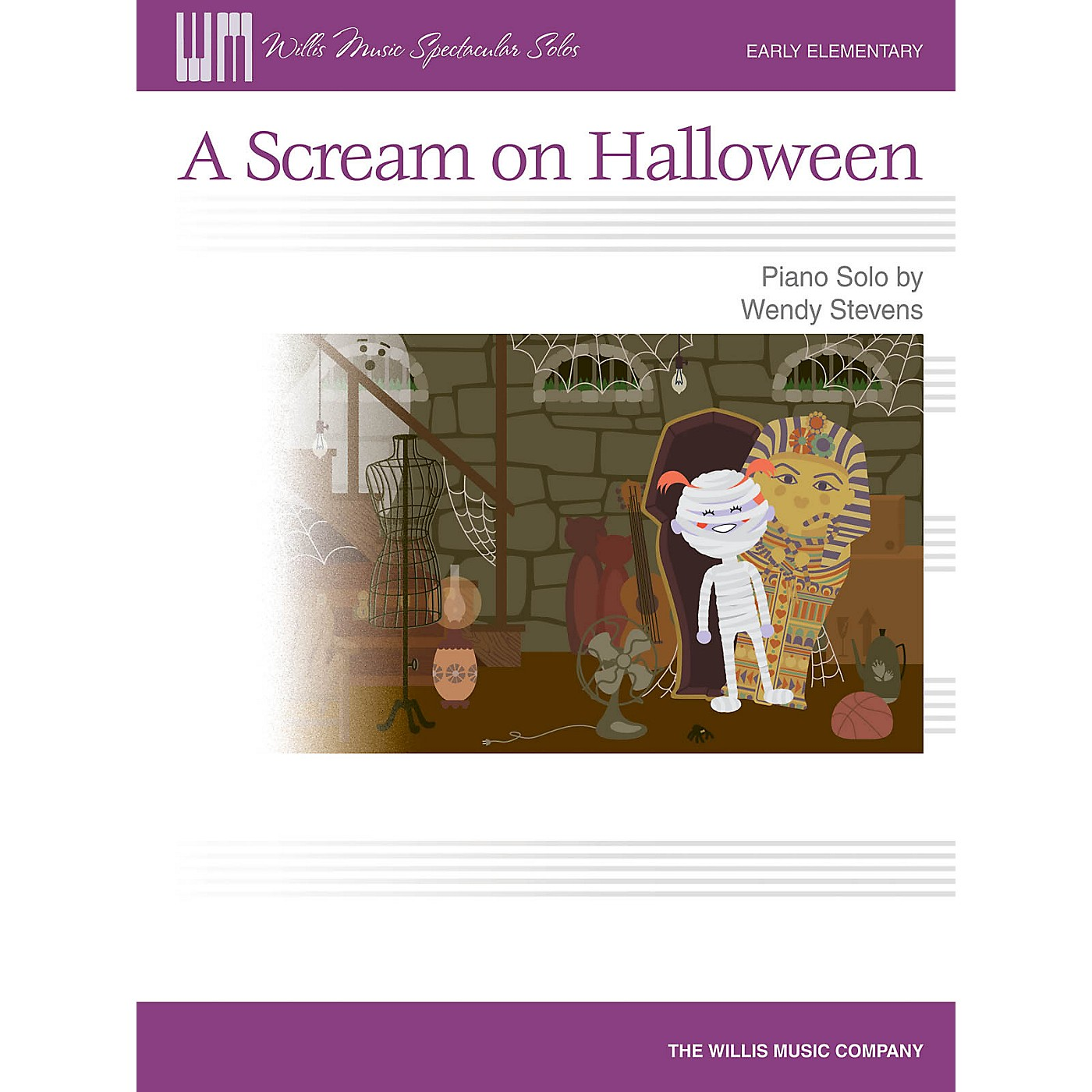 Willis Music A Scream on Halloween (Early Elem Level) Willis Series by Wendy Stevens thumbnail