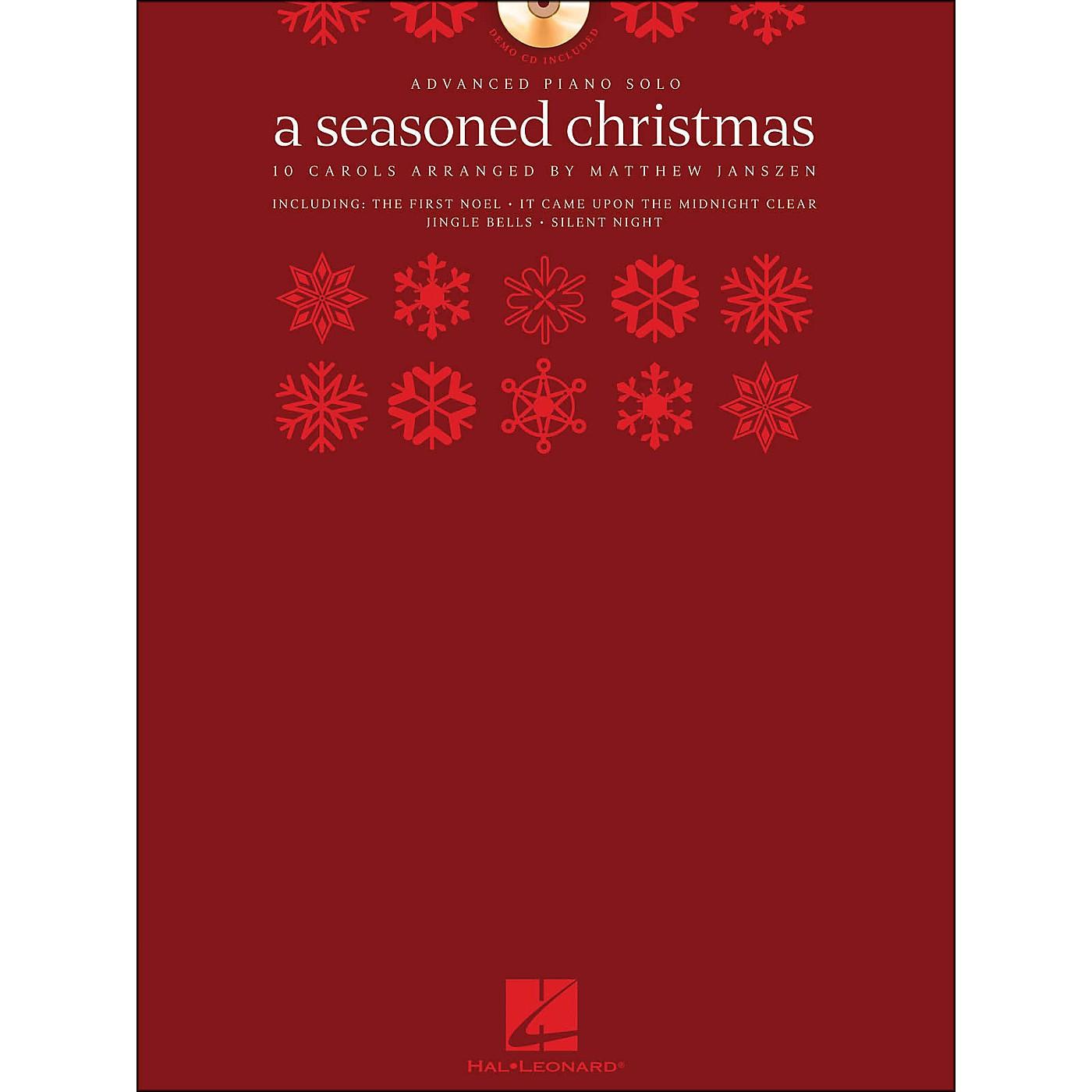 Hal Leonard A Seasoned Christmas - Advanced Piano Solo (Book/CD Pack) arranged for piano solo thumbnail
