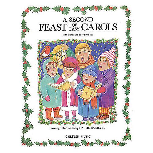 Music Sales A Second Feast Of Easy Carols Music Sales America Series Written by Carol Barratt thumbnail