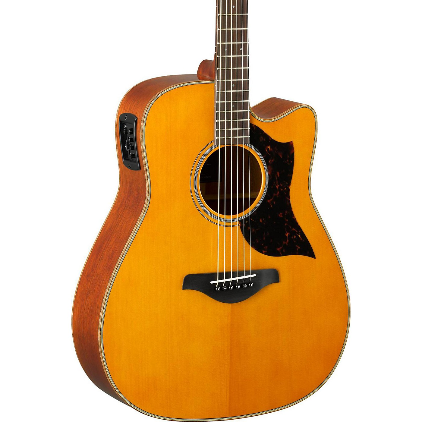 Yamaha A-Series A1M Cutaway Dreadnought Acoustic-Electric Guitar thumbnail