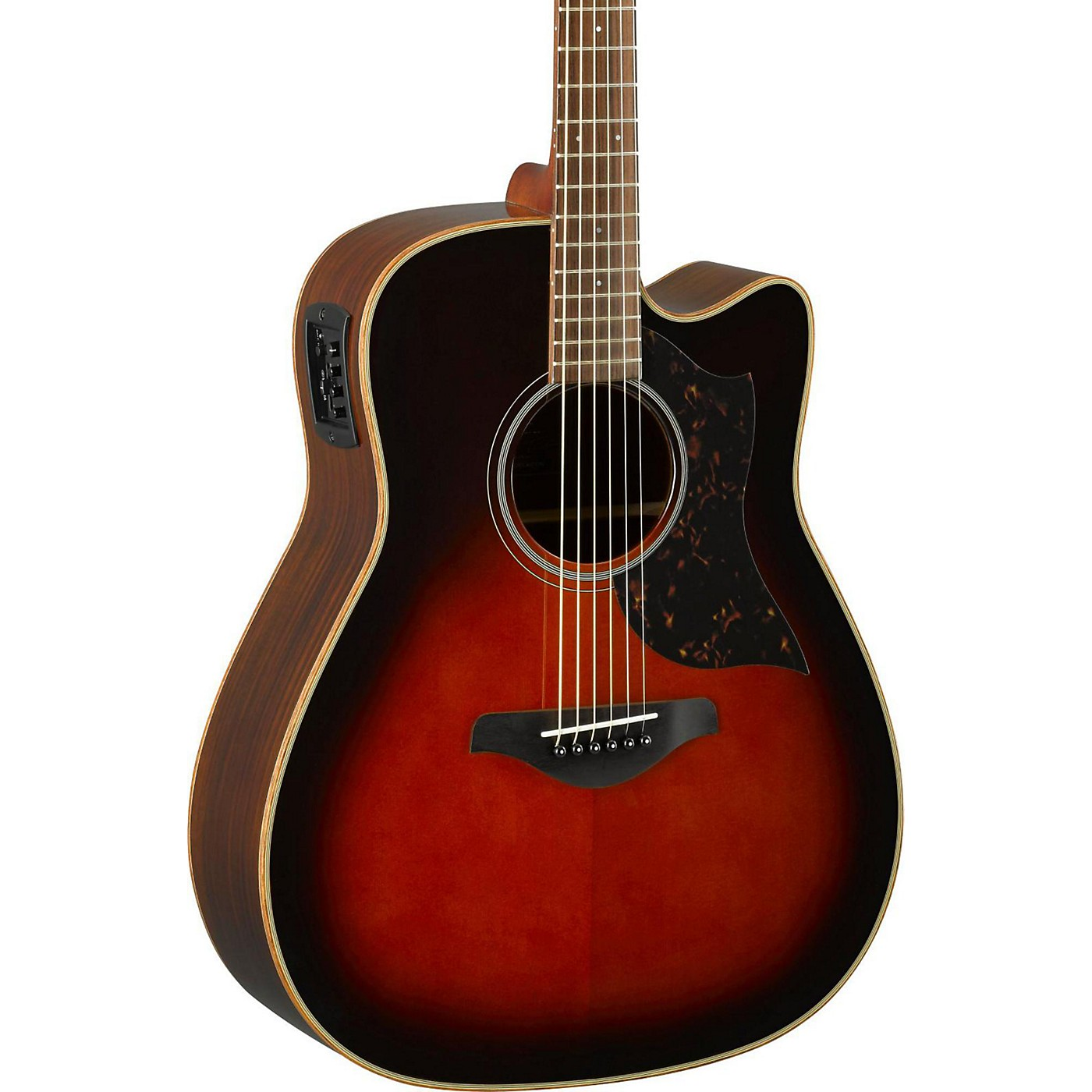 Yamaha A-Series A1R Cutaway Dreadnought Acoustic-Electric Guitar thumbnail