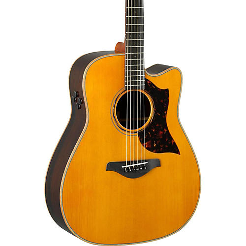 yamaha vintage natural a series a3r dreadnought acoustic electric guitar woodwind brasswind. Black Bedroom Furniture Sets. Home Design Ideas