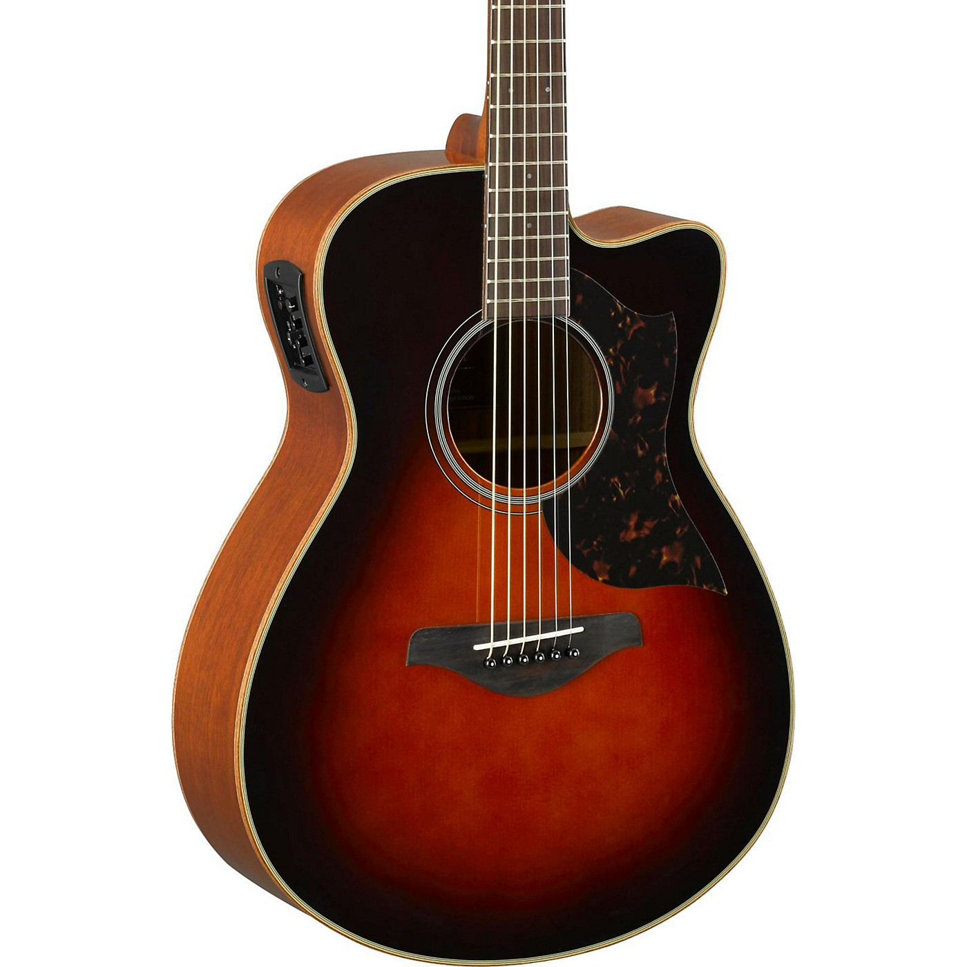 Yamaha A-Series AC1M Cutaway Concert Acoustic-Electric Guitar thumbnail