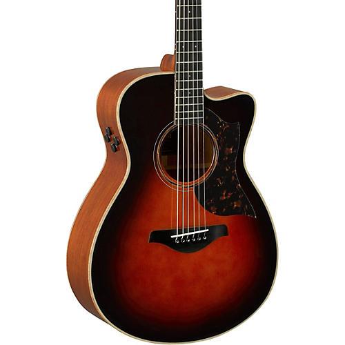 Yamaha A-Series AC3M Cutaway Concert Acoustic-Electric Guitar thumbnail