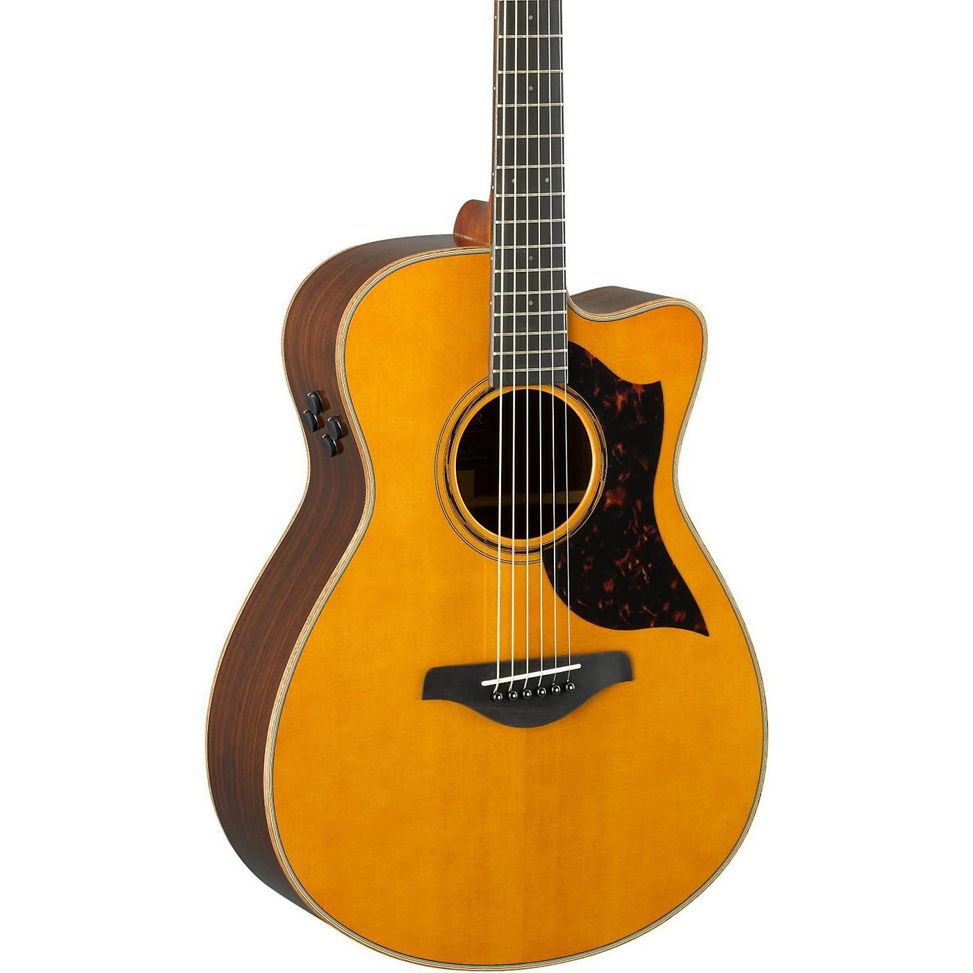 Yamaha A-Series AC3R Concert Cutaway Acoustic-Electric Guitar thumbnail