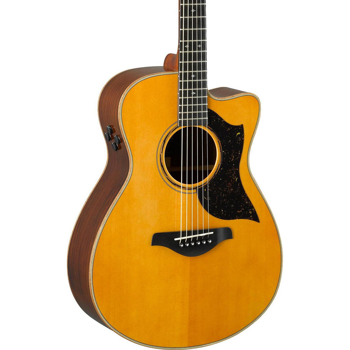 Yamaha A-Series AC5R Cutaway Concert Acoustic-Electric Guitar thumbnail