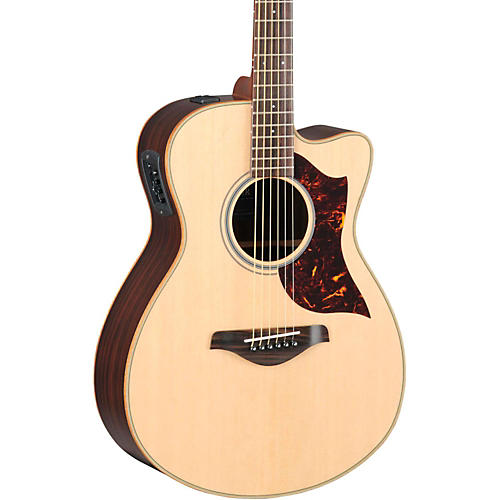 Yamaha A-Series Concert Acoustic-Electric Guitar with SRT Pickup thumbnail