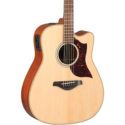 Yamaha A-Series Dreadnought Acoustic-Electric Guitar with SRT Pickup-thumbnail