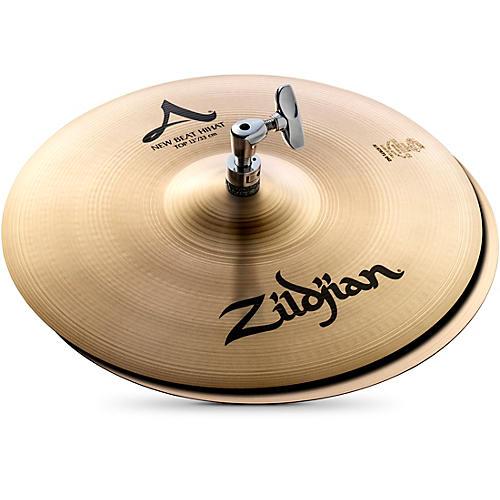 Zildjian A Series New Beat Hi-Hat Cymbal Pair thumbnail