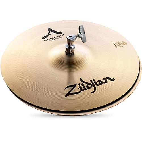 Zildjian A Series New Beat Hi-Hat Cymbal Pair thumbnail