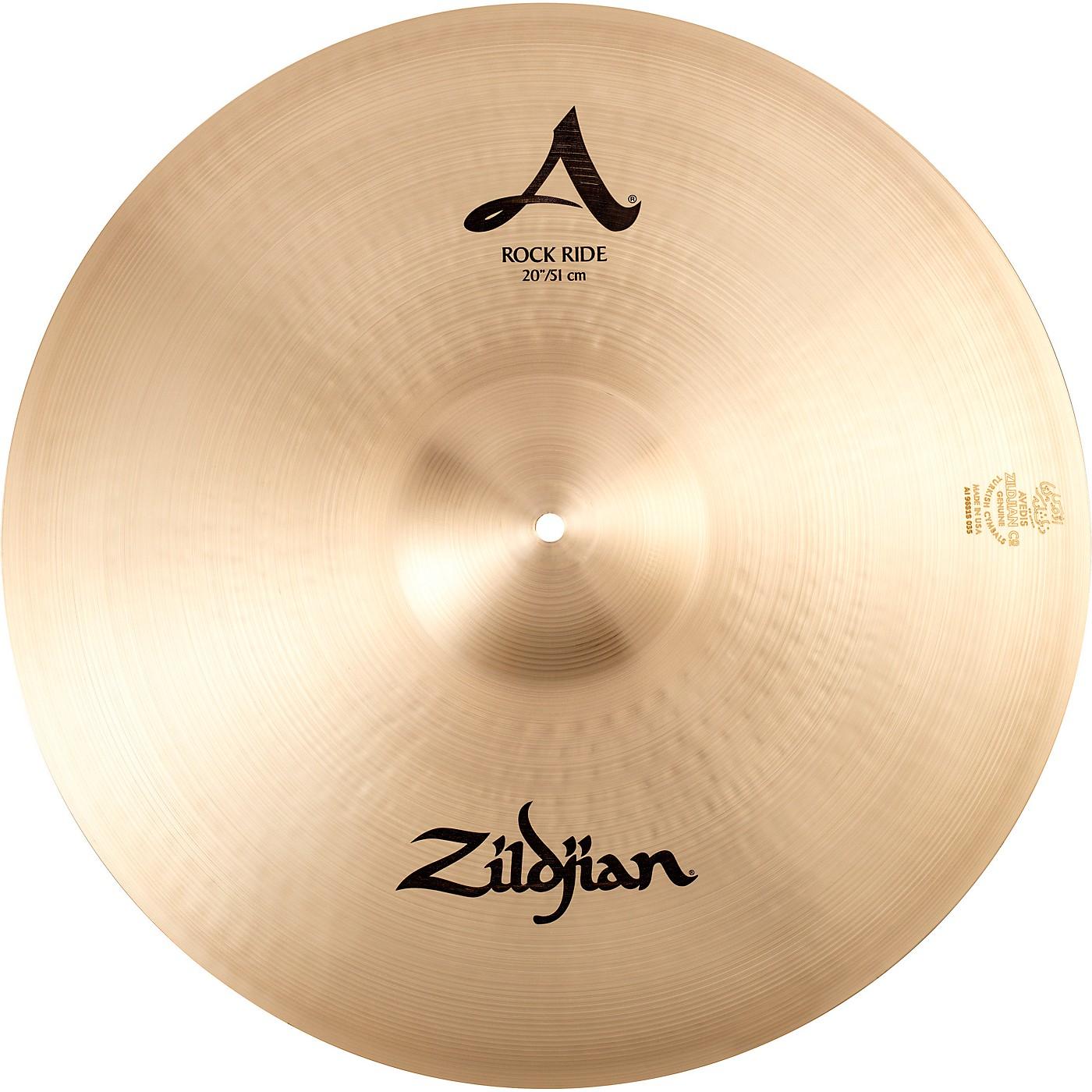 Zildjian A Series Rock Ride Cymbal thumbnail