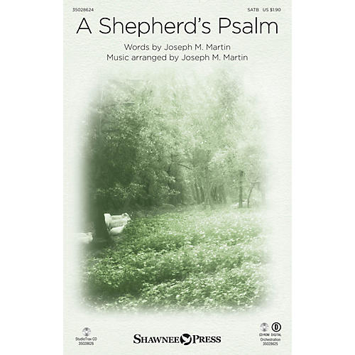 Shawnee Press A Shepherd's Psalm (StudioTrax CD) Studiotrax CD Composed by Joseph M. Martin thumbnail