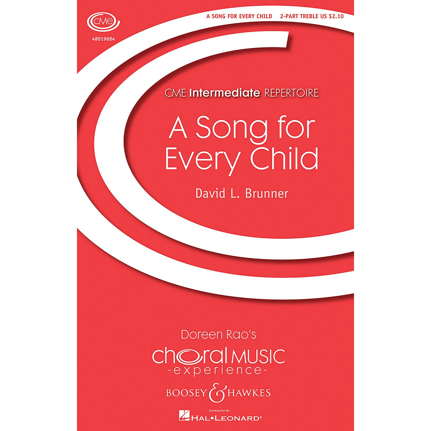 Boosey and Hawkes A Song for Every Child (CME Intermediate) 2PT TREBLE composed by David L. Brunner thumbnail