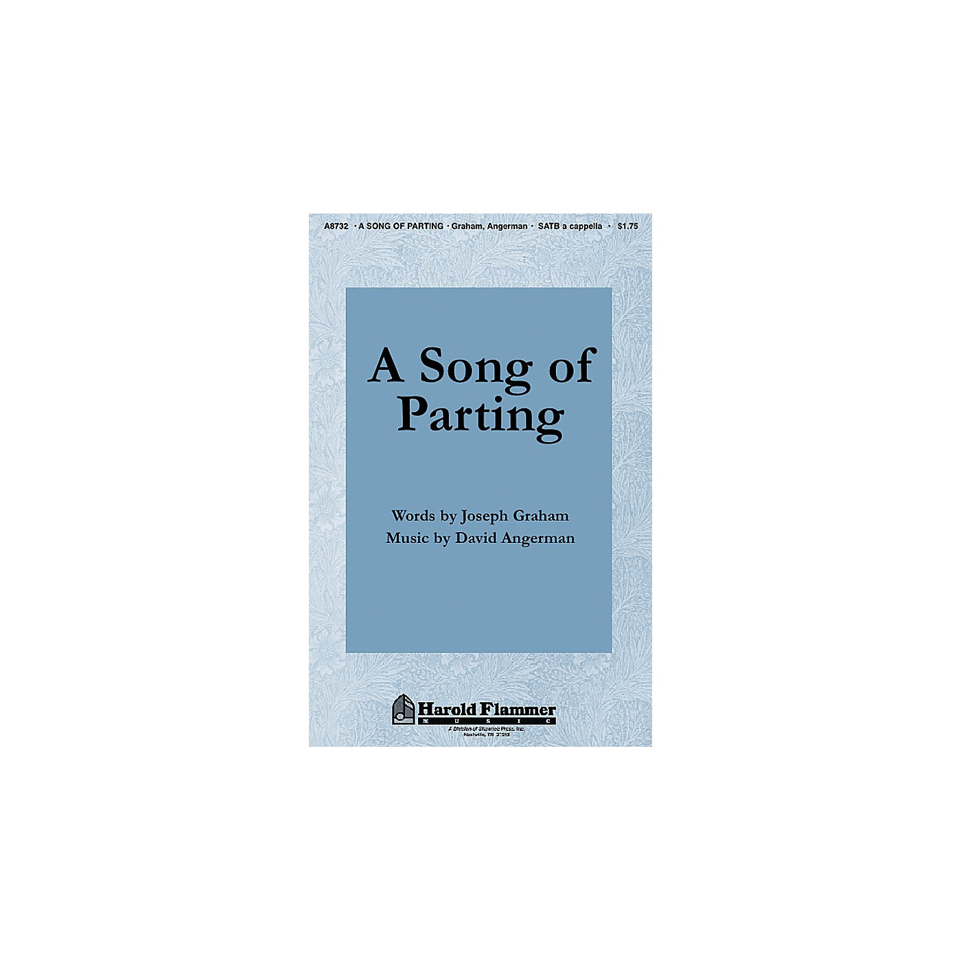 Shawnee Press A Song of Parting SATB a cappella composed by Joseph Graham thumbnail