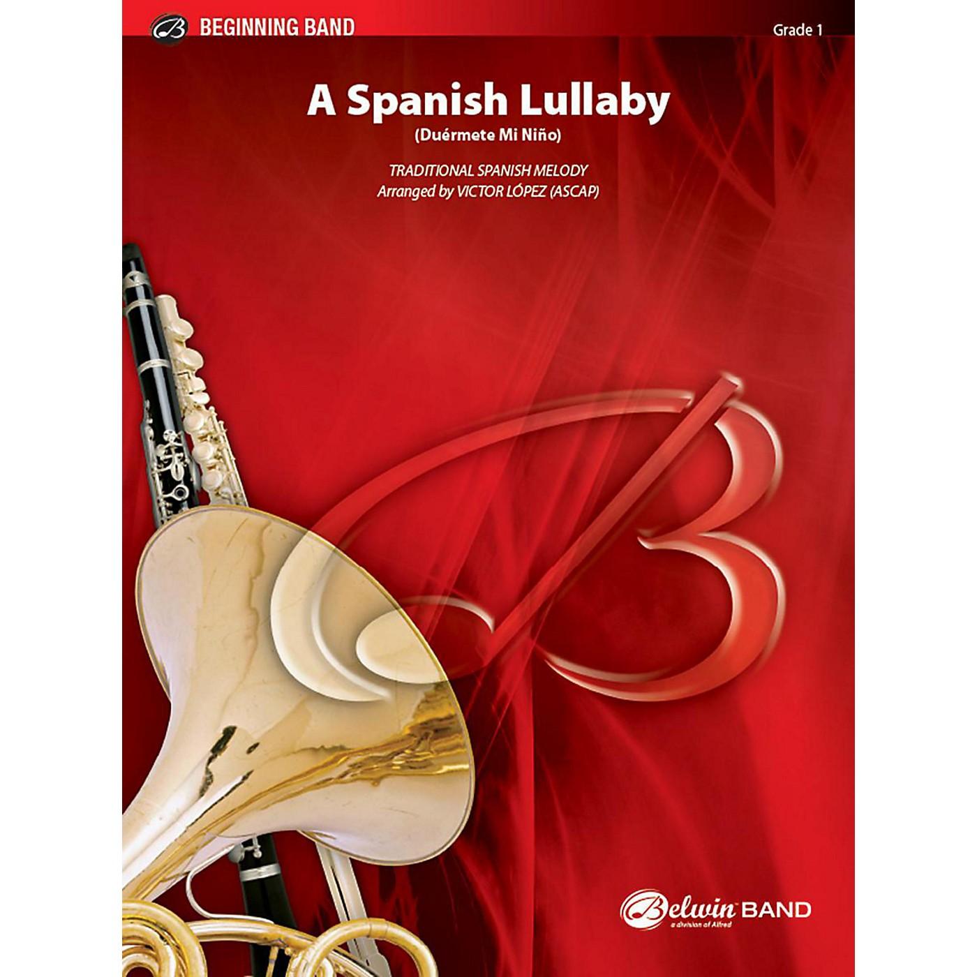 Alfred A Spanish Lullaby Concert Band Grade 1 Set thumbnail