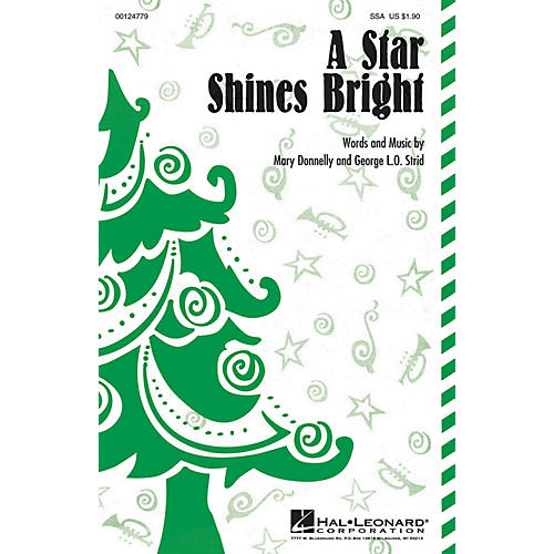 Hal Leonard A Star Shines Bright SSA composed by Mary Donnelly thumbnail