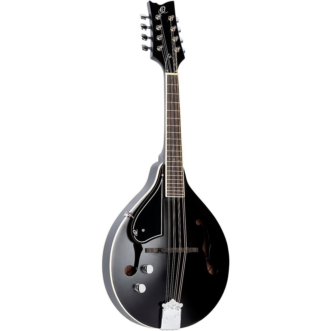 Ortega A-Style Series RMAE40SBK-L Left-Handed Acoustic Electric Mandolin thumbnail