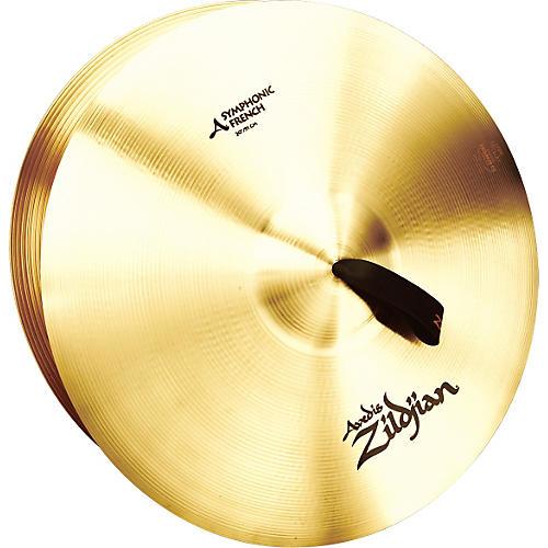 Zildjian A Symphonic French Tone Crash Cymbal Pair thumbnail