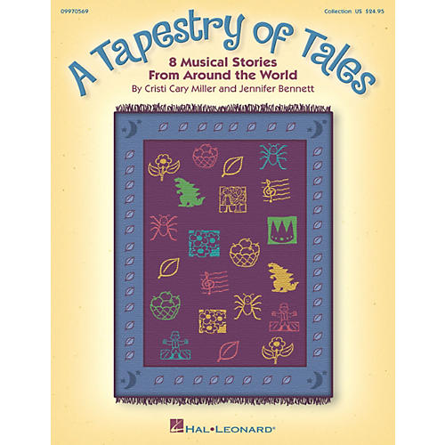 Hal Leonard A Tapestry Of Tales - 8 Musical Stories from Around the World Song Collection-thumbnail