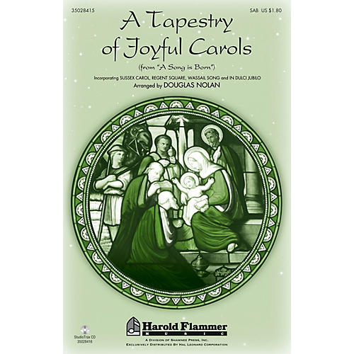 Shawnee Press A Tapestry of Joyful Carols Studiotrax CD Composed by Douglas Nolan thumbnail