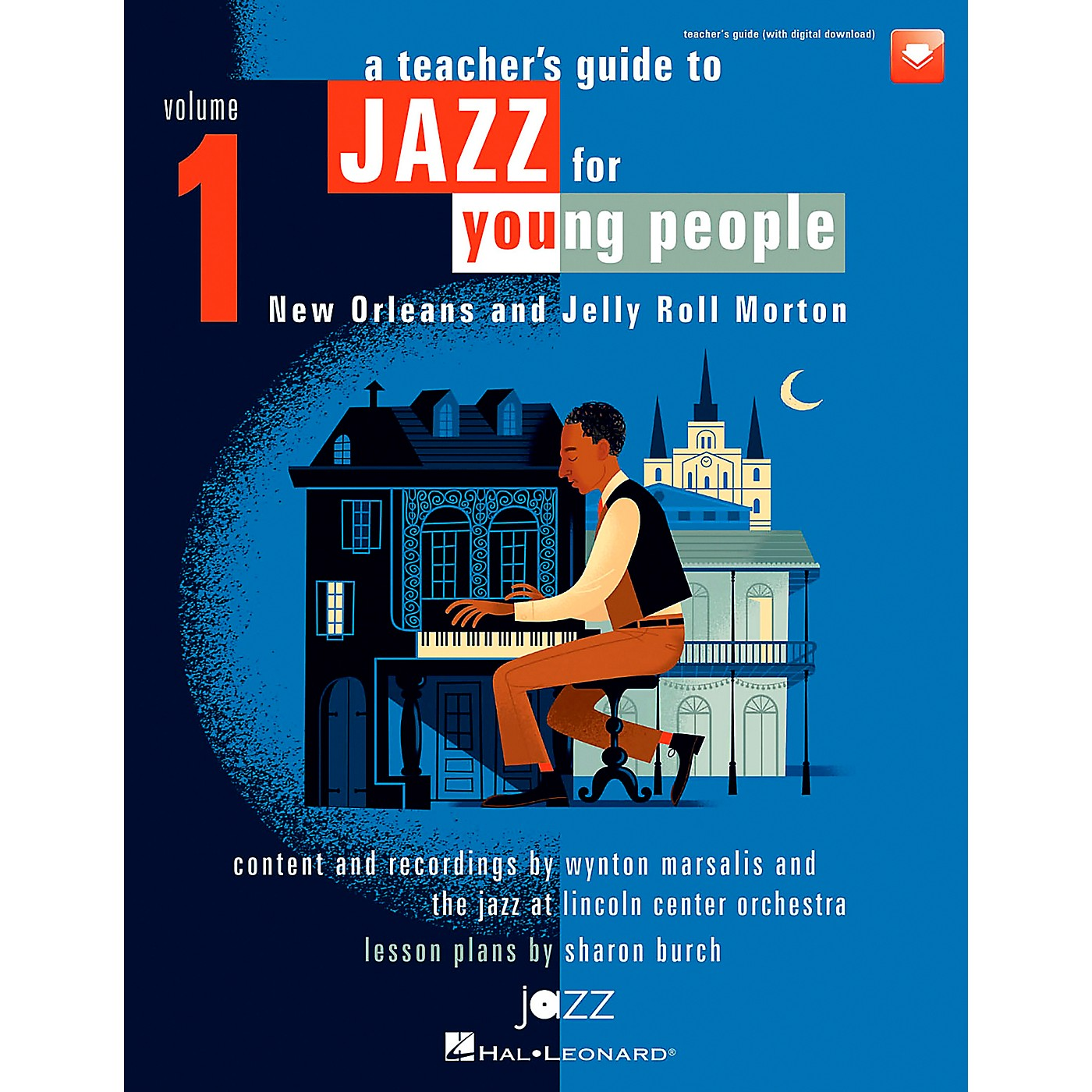 Hal Leonard A Teacher's Resource Guide to Jazz for Young People, Vol. 1 TEACHER BOOK WITH DOWNLD CODE thumbnail