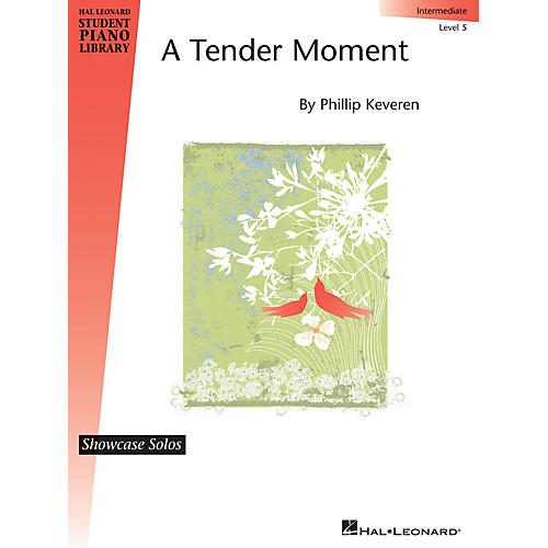 Hal Leonard A Tender Moment Piano Library Series by Phillip Keveren (Level Inter) thumbnail