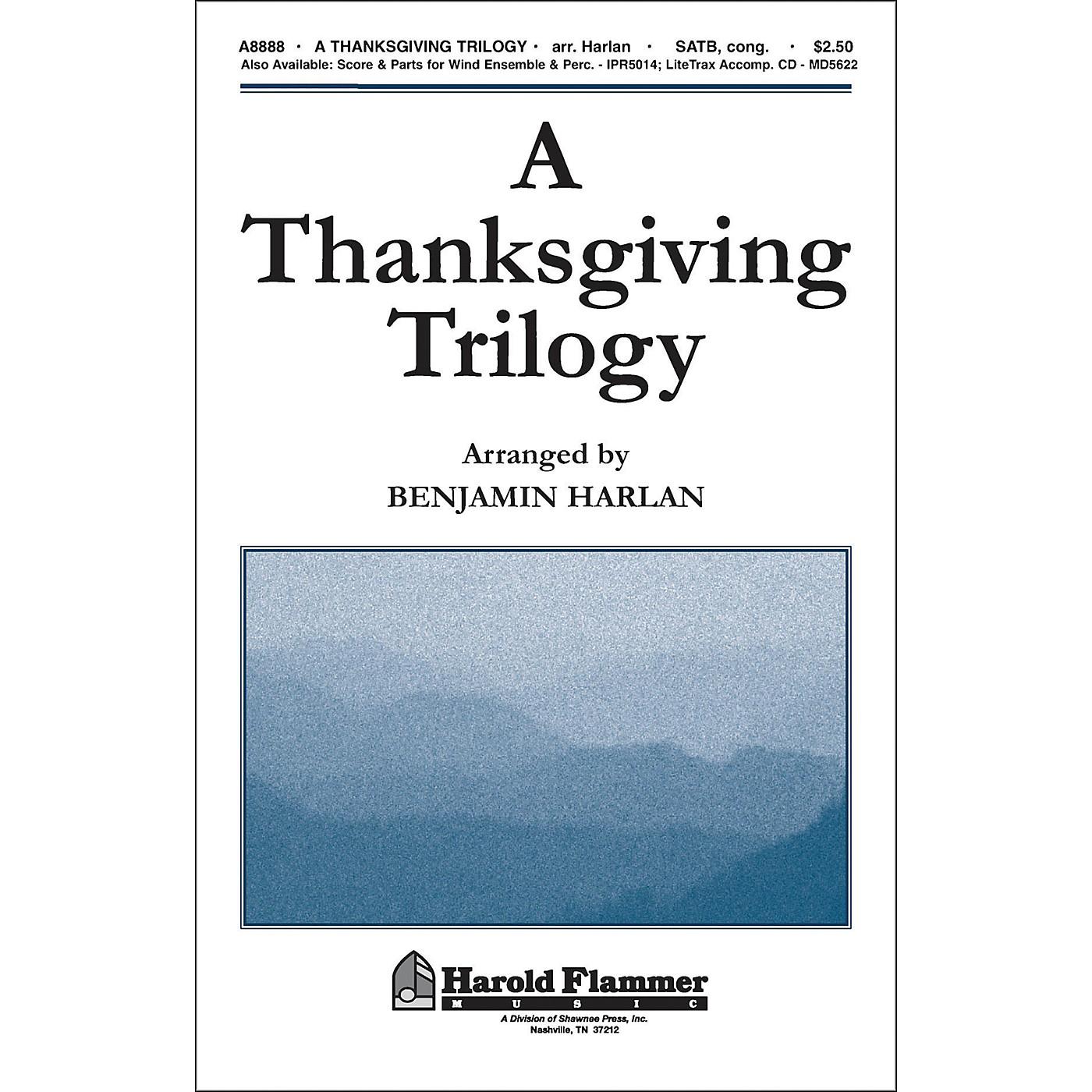 Hal Leonard A Thanksgiving Trilogy SATB thumbnail