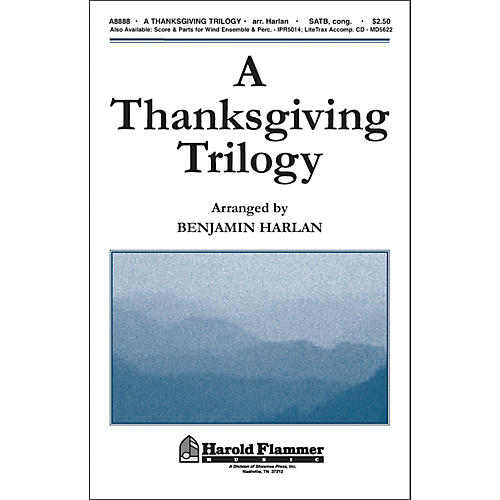Hal Leonard A Thanksgiving Trilogy SATB thumbnail