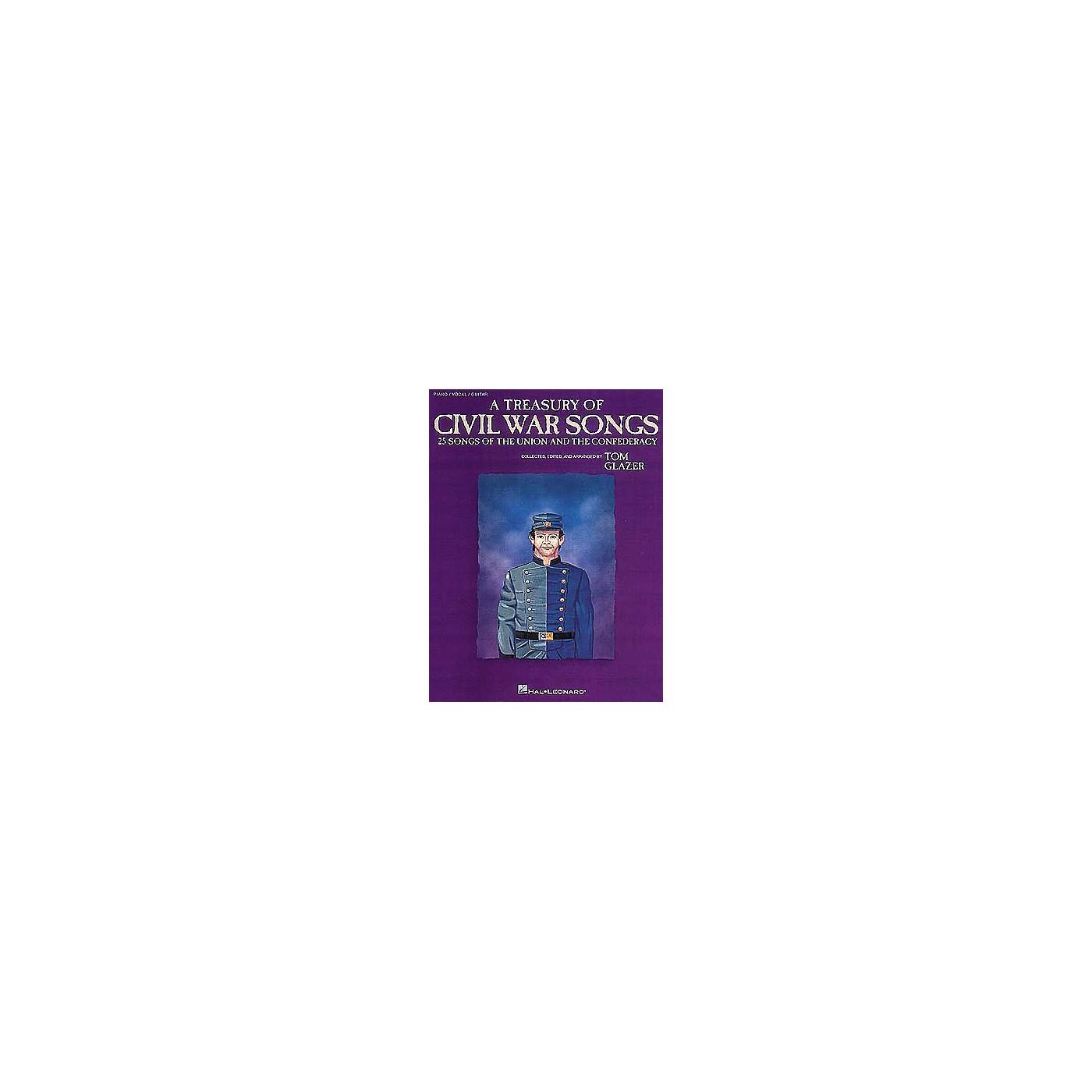 Hal Leonard A Treasury of Civil War Songs Piano/Vocal/Guitar Songbook thumbnail