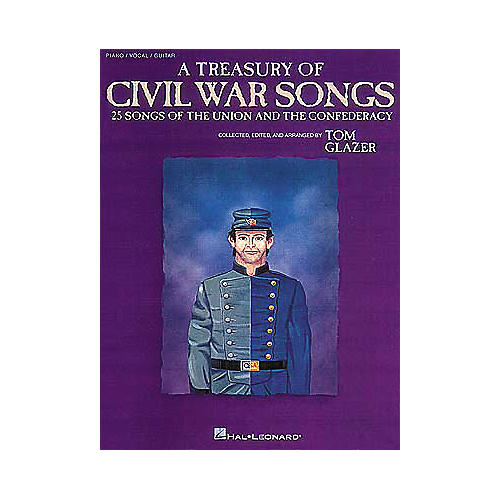 Hal Leonard A Treasury of Civil War Songs Piano/Vocal/Guitar Songbook thumbnail