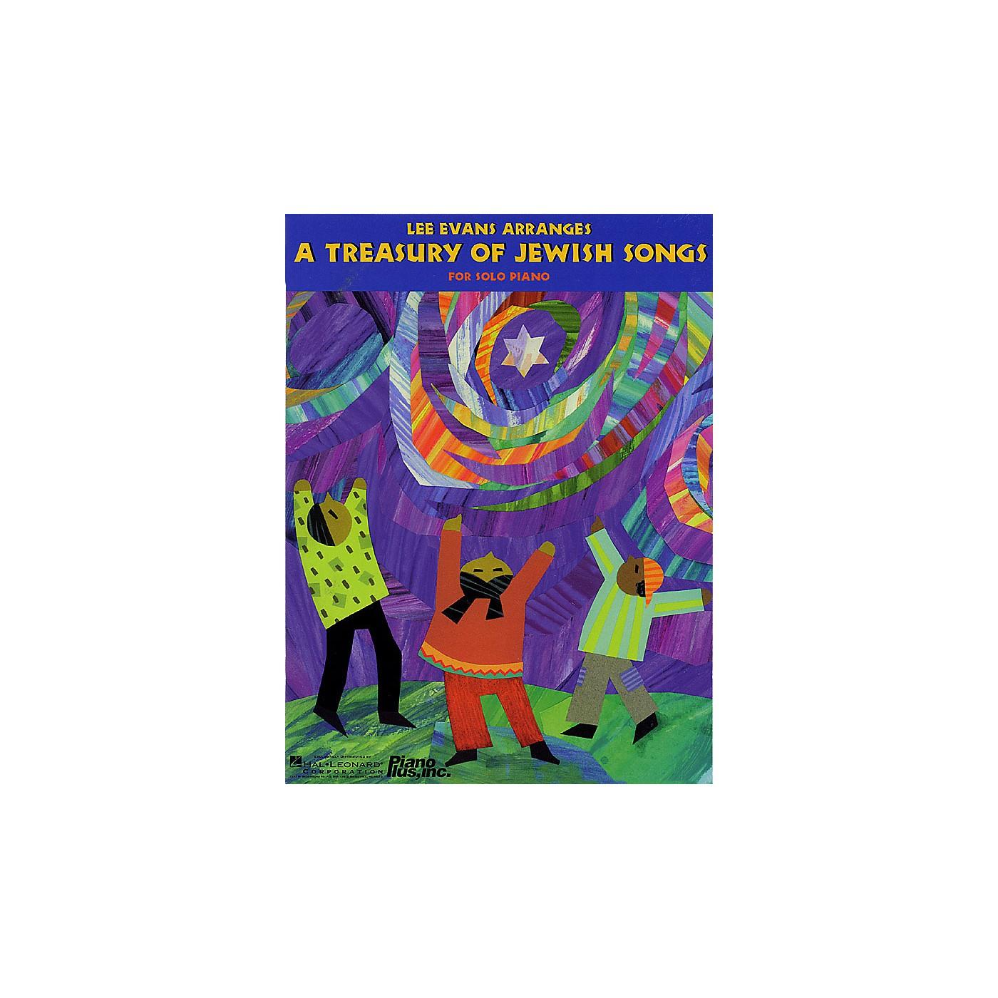 Hal Leonard A Treasury of Jewish Songs (Lee Evans Arranges) Evans Piano Education Series (Intermediate) thumbnail