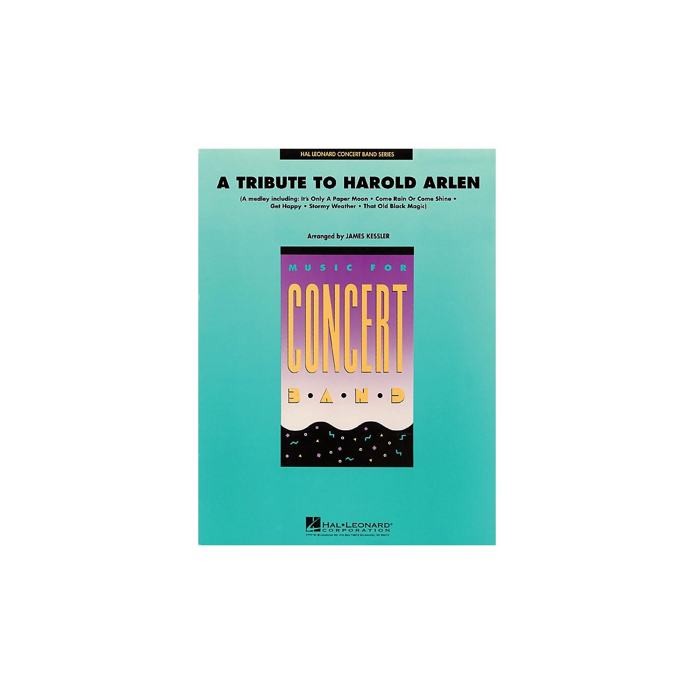 Hal Leonard A Tribute to Harold Arlen Concert Band Level 4 Arranged by James Kessler thumbnail