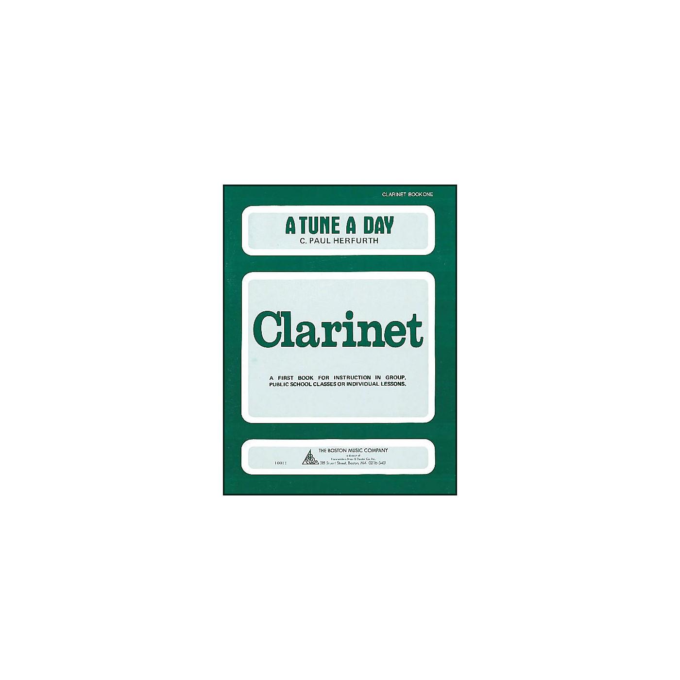 Music Sales A Tune A Day Clarinet Book 1 thumbnail