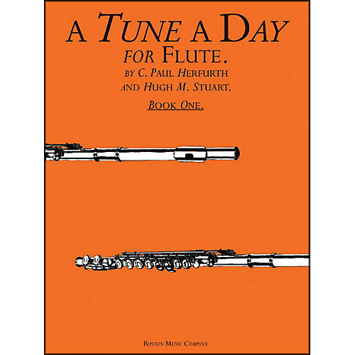 Music Sales A Tune A Day Flute Book 1-thumbnail