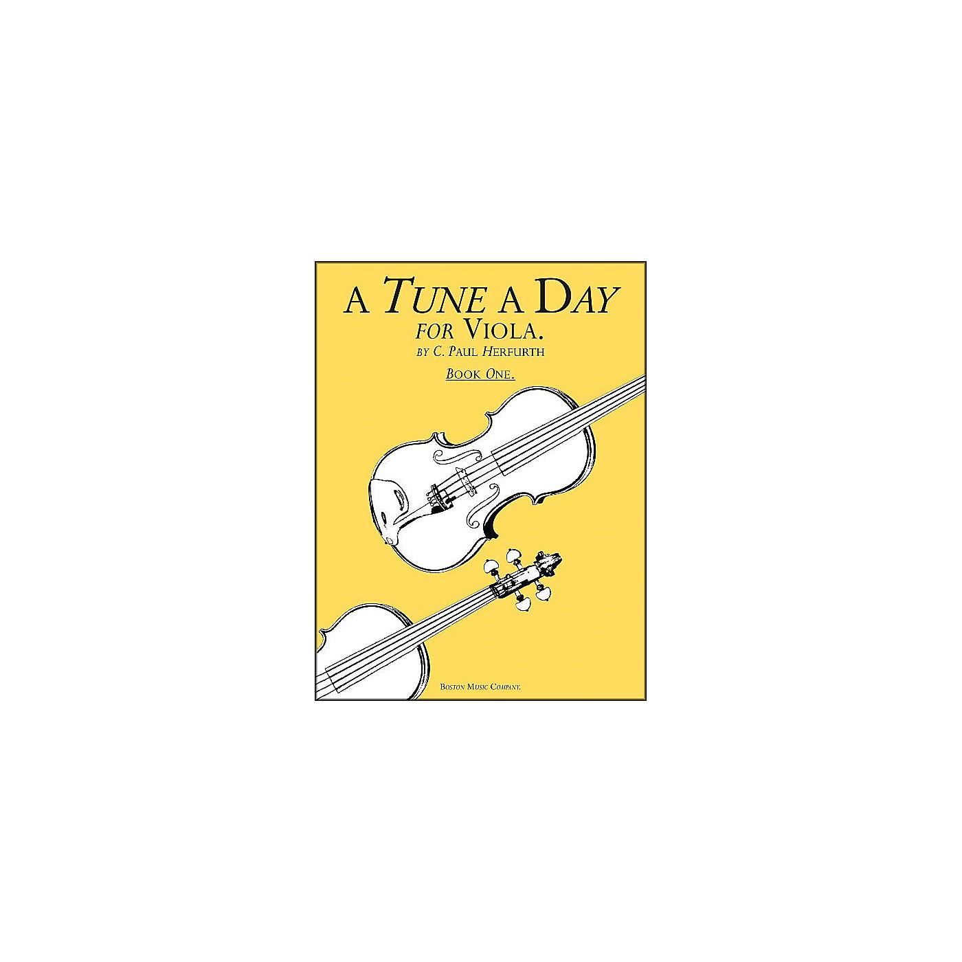 Music Sales A Tune A Day Viola Book 1 thumbnail