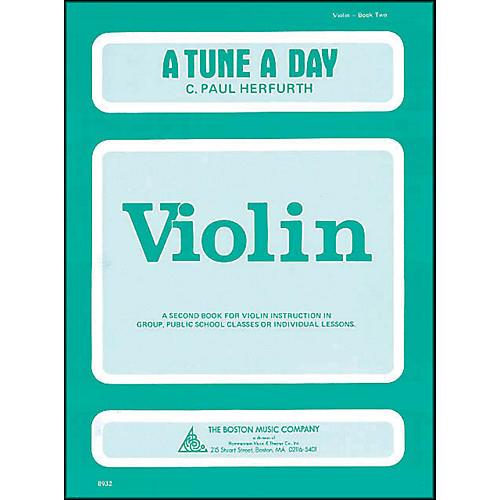Music Sales A Tune A Day Violin Book 2-thumbnail