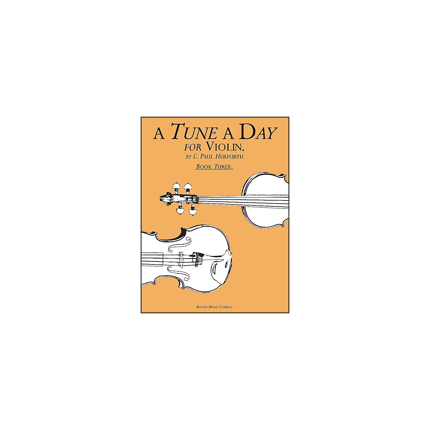 Music Sales A Tune A Day for Violin Book 3 thumbnail