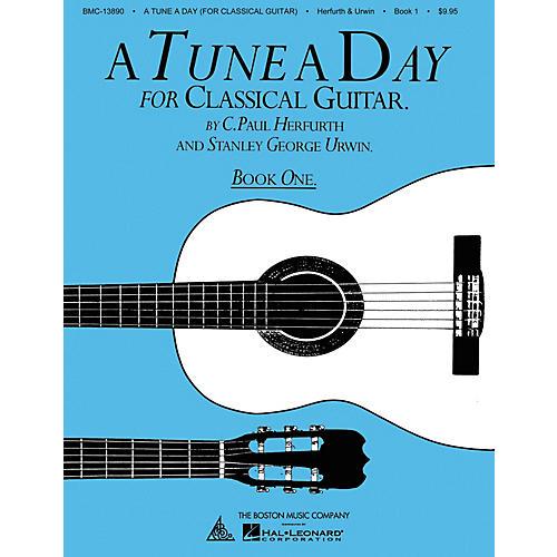 Boston Music A Tune a Day - Classical Guitar (Book 1) Music Sales America Series Written by C. Paul Herfurth thumbnail
