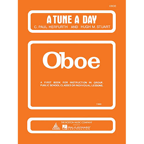 Music Sales A Tune a Day - Oboe (Book 1) Music Sales America Series Written by C. Paul Herfurth thumbnail