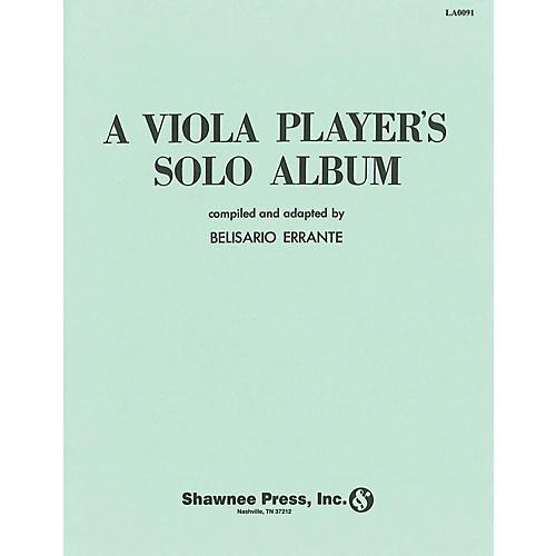 Hal Leonard A Viola Players Solo Album Viola Solo Viola thumbnail
