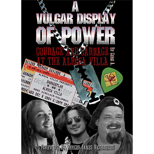 MJS Music Publications A Vulgar Display Of Power: Courage And Carnage At The Alrosa Villa (Book)-thumbnail