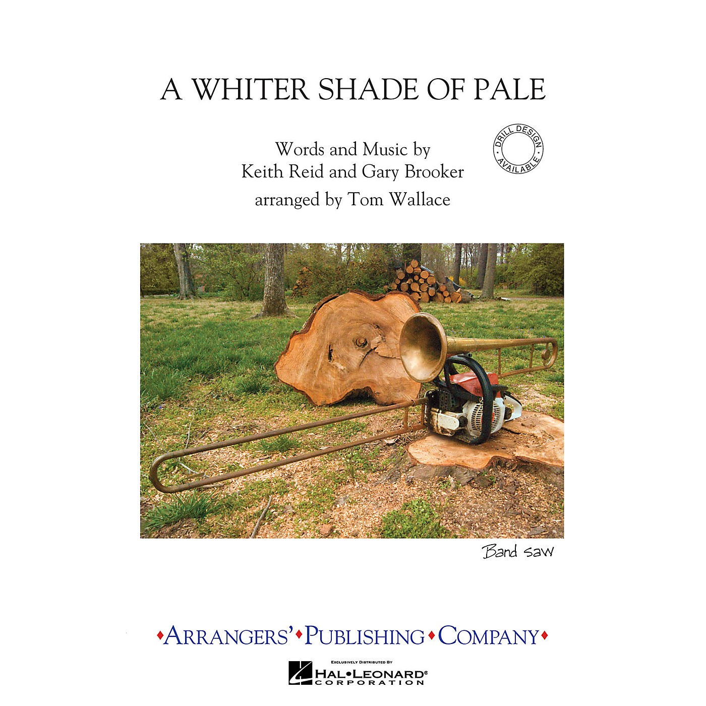 Arrangers A Whiter Shade of Pale Marching Band Level 3 Arranged by Tom Wallace thumbnail
